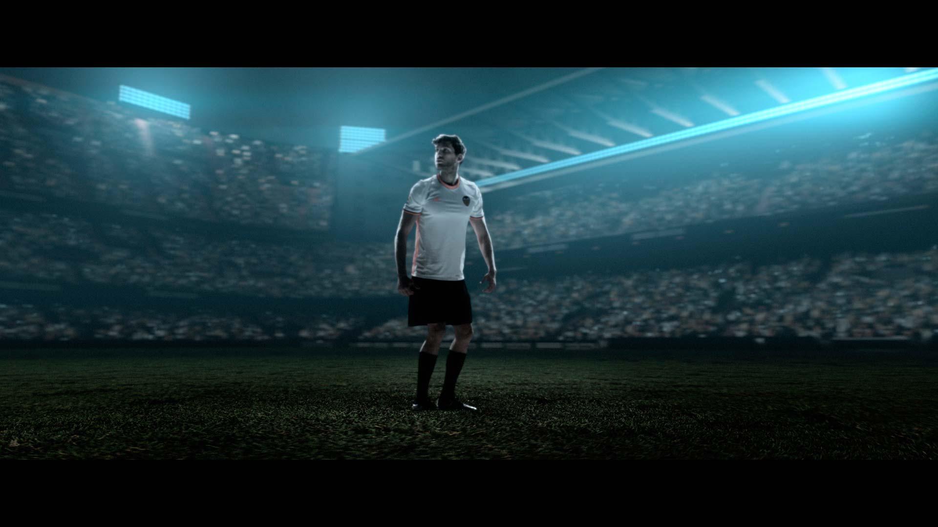 Camiseta Valencia FC 2016 vídeo animación 3D virtual art