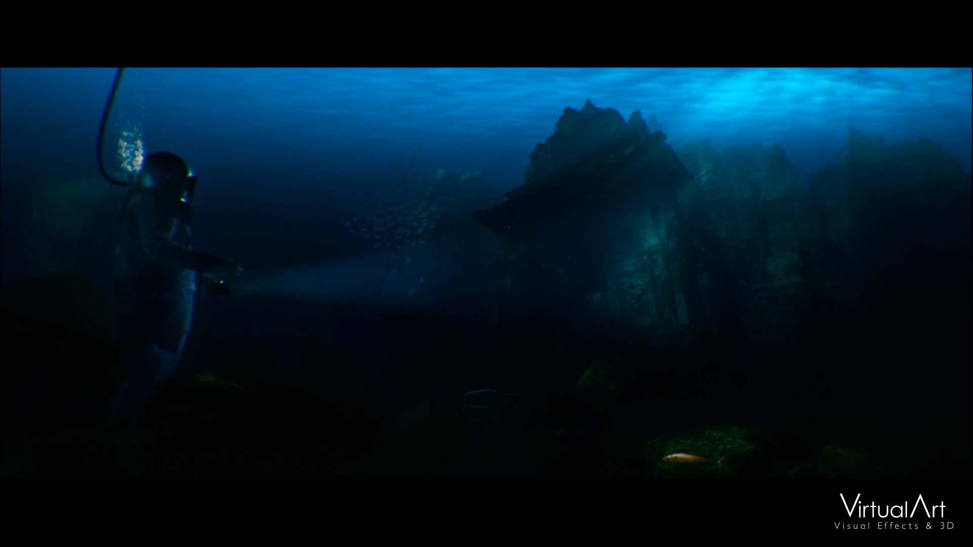 La tercera ley de Clarke Virtual Art efectos visuales VFX valencia