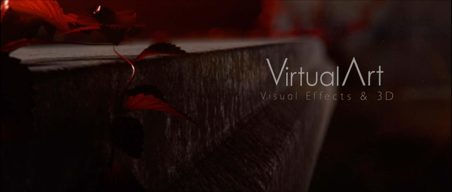 The Other Side Virtual Art títulos de crédito animación 2d y 3D
